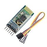 WINGONEER HC-05 drahtloser Bluetooth-Transceiver-Modul Slave und Master-RS232 mit 6 Satz-Kabel für Arduino