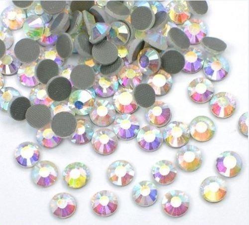 2500PCS Bulk 6mm 30SS ab Kristall Lose Strass Hot Fix Best Qualität von threadnanny