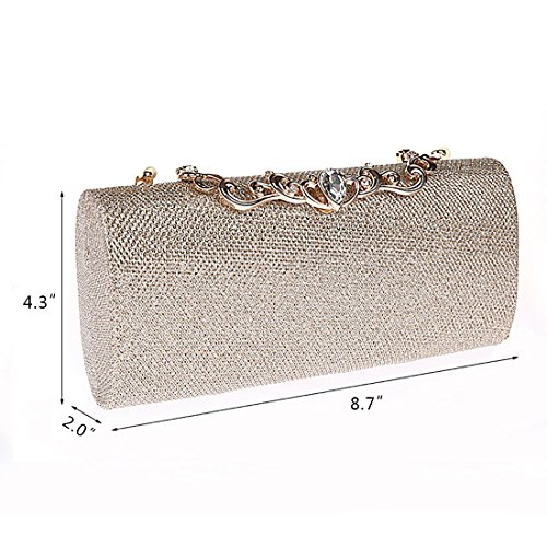 YYW Evening Bag, Poschette giorno donna Blue