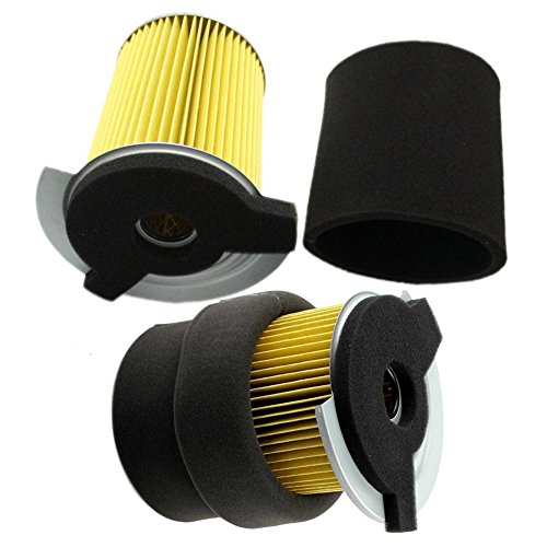 Air Filter Pre-cleaner (OxoxO 2PCS JF7-14450-01 J10-14417-00 Air Pre Filter For Yamaha G1 2 Cycle 1978-1989 and Gas Golf Cart G14 4 Cycle Gas 1995-1996)