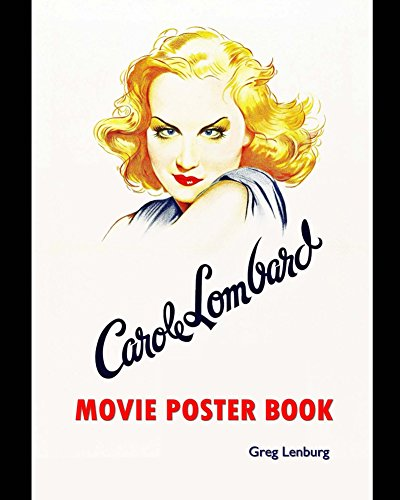 Carole Lombard Movie Poster Book English Edition