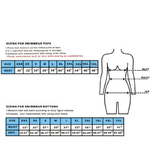 Damen Soft & Smooth Quick Dry Swim Bikini Bottom Blau