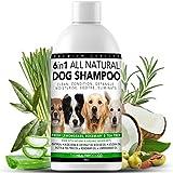 Shampoing 6 en 1 pour Chien 100% Naturel