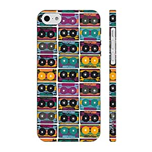 Enthopia Designer Hardshell Case The Old Way of Music - colourful Back Cover for Apple IPhone 5c
