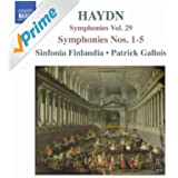Haydn: Symphonies, Vol. 29 (Nos. 1, 2, 3, 4, 5)