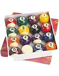 2 Inch Pool Snooker Solid Stripes Billiard Table Top Match Quality Balls Set by OSG