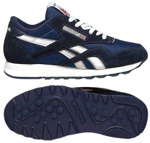 Reebok Classic Nylon, Sneakers Basses Homme team navy platinum