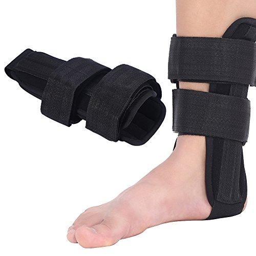 3 Größen Knöchel-Stützklammer-Fuß-Stabilisator-Orthese-Knöchel-Schutz-Verstauchungs-Splint-Schutz(L)