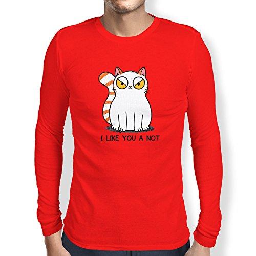 Texlab Like You a Not - Herren Langarm T-Shirt, Größe L, ()