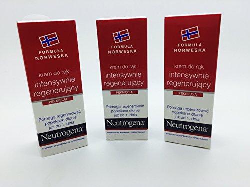 Neutrogena Intensiv Reparatur Hände creme 15ml x3Röhren