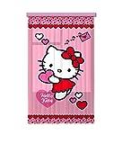 Gardine/Vorhang FCS L 7513, Hello Kitty, 140 x 245 cm, 1 teil
