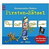 Konzentration fördern - Piraten-Rätsel