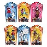 Disney Pixar - Coco Juego Completo de Personajes Originales de Mattel FLY79