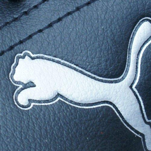 Puma Stepfleex jr, Jungen Sneaker Schwarz - Noir et gris argenté