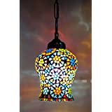 Handcrafted Crystal Decorated Hanging Light