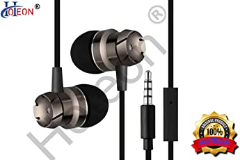 Hoteon Tree Song Metal In-Ear earphone , Extra Bass , Remote control , Mic and Phone call