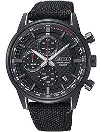 Seiko Analog Black Dial Men's Watch-SSB315P1