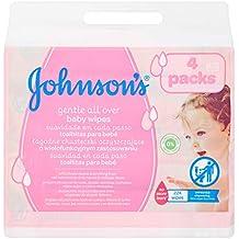 Johnsons baby - Toallitas para bebe suavidad en cada paso, 224 uds