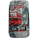 Akashi Etui folio pour Samsung  Galaxy Core Plus London News
