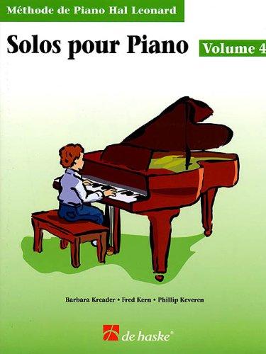 Solos pour piano Volume 4