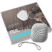 NUT 3 Mini Anti-perdida inteligente Bluetooth Tracker Inalámbrico Rastreador de llave Localizador Buscador TH444 (gris)