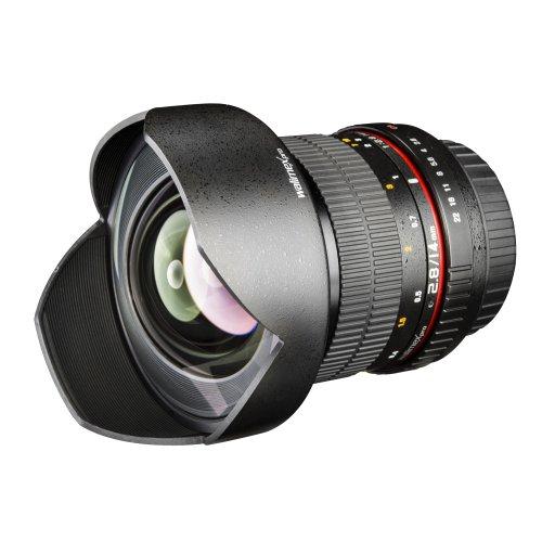 Walimex Pro 14 mm f/2.8 DSLR-Weitwinkelobjektiv für Canon EF Objektivbajonett