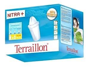 Terraillon-7933-Cartouche filtrante PACK 6 NITRA Classic