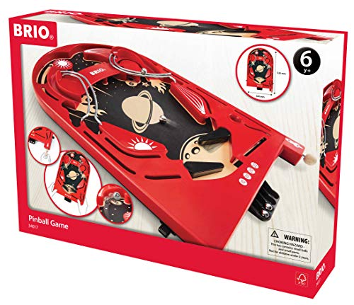 BRIO 34017 - Holzflipper Space Safari Flipperspiel