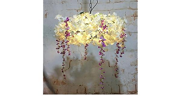 Plafoniera Fiori Colorati : Plafoniera a teste plafoniere foglie e fiori colorati