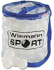 weiß Balltasche inkl 144 TT Bälle Tischtennis Tischtennisbälle Plastikbälle 40
