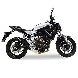 Pot d'échappement LeoVince Underbody 8796, Ensemble complet Evo2 Acier pour Yamaha MT-07 RM04 | Yamaha MT-07 ABS RM04 | Yamaha MT-07 Moto Cage ABS