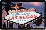 Welcome to Fabulous Las Vegas Nevada USA América 20X 30cm cartel de chapa 1051