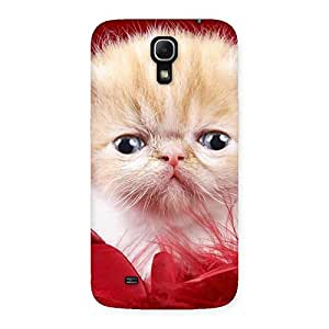 Kitty In Red Fur Back Case Cover for Galaxy Mega 6.3