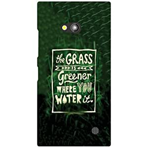 Printland Grass Is Green Phone Cover For Nokia Lumia 730