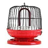 SJHUO 1200 W 220 V 360 Gradi Portatile Ventilatore Elettrico riscaldatore Spazio Stufa radiatore più Caldo Ventilatore riscaldatore per la Gabbia di Uccelli d'inverno casa silenziosa