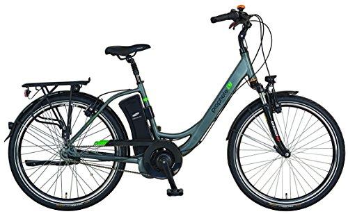 e bike mit mittelmotor und ruecktrittbremse Prophete E-Bike,26