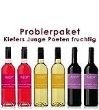 6 er Probierpaket Kiefers junge Poeten fruchtig | 6 x 0,75 L.