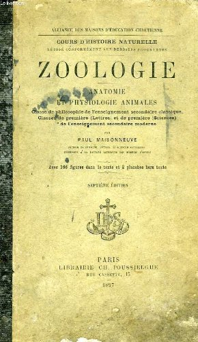 Zoologie, anatomie et physiologie animales, classes de philosophie et de 1re