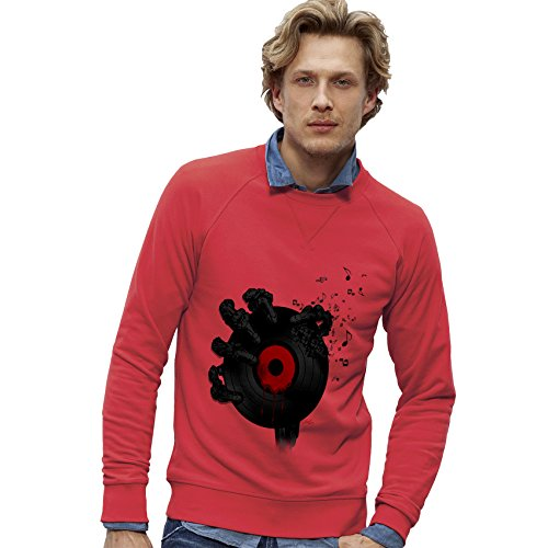 TWISTED ENVY - Felpa - Maniche lunghe  - Uomo Hibiscus X-Large