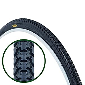 Pair of Fincci Road Mountain Hybrid Bike Bicycle Tyre Tyres 700 X 35C