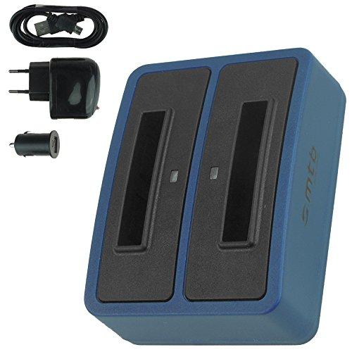 Dual-Ladegerät (Netz+Kfz+USB) CT-3650 für Contour+2, ContourHD 1080P. / Toshiba PX1728, Camileo P100. / Aiptek - s. Liste
