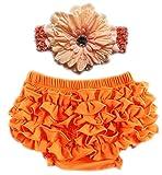 October Elf - Braguitas de entrenamiento - para bebé niña multicolor naranja M