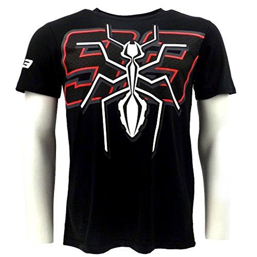 Marc Marquez 93 grande fourmi Moto GP T-shirt noir officiel Neuf