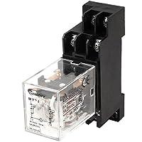 Sourcingmap - Ac bobina 6v 8 pin relè guida din potenza elettromagnetica my2j w di base