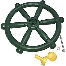 Piraten-Lenkrad Steuerrad für Spielturm, Baumhaus Ø 30 cm, grün
