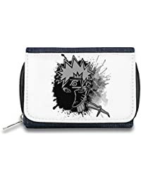 Naruto Monedero de Cremallera Bolso Zipper Wallet| The Stylish Pouch To Keep Everything Organized| Ideal For Everyday Use & Traveling| Authentic Accessories By Hamerson