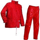 Lyngsoe LR104054-02-XXXXL Veste et Pantalon Set de Pluie Taille XXXXL Rouge
