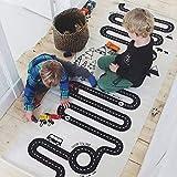 Velidy Kinderteppich/Spielteppich für Kinderzimmer, ungiftig, Anti-Rutsch-Baumwolle, Früherziehung, Krabbelteppich für Kinderzimmer