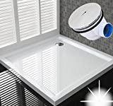 100x100 Duschtasse Duschwanne Flach Wanne H 6 cm Für Duschabtrennung