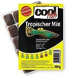 Cool Fish Tropischer Mix, 15 x 100g-Blister, Fisch-Frostfutter, Aquarium, Aquaristik, Fischfutter